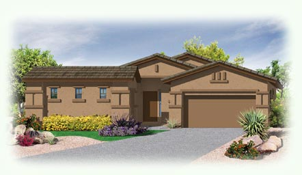 Palacio Model - Ridgeview at Sonoran Mountain Ranch in Peoria Arizona and Metropolitan Phoenix