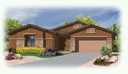 Palacio Model - Ridgeview at Sonoran Mountain Ranch in Peoria Arizona and Metropolitan Phoenix