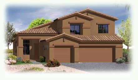 Sevilla Model - Ridgeview at Sonoran Mountain Ranch in Peoria Arizona and Metropolitan Phoenix