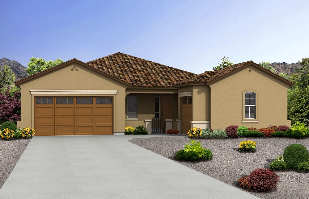 Rendering of Spanish Model Home
