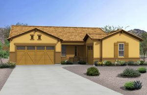 Rendering of Ranch Model Home