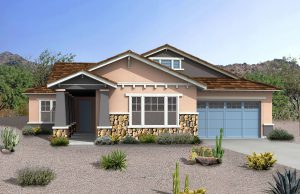 Cresleigh Homes Craftman - Rendering