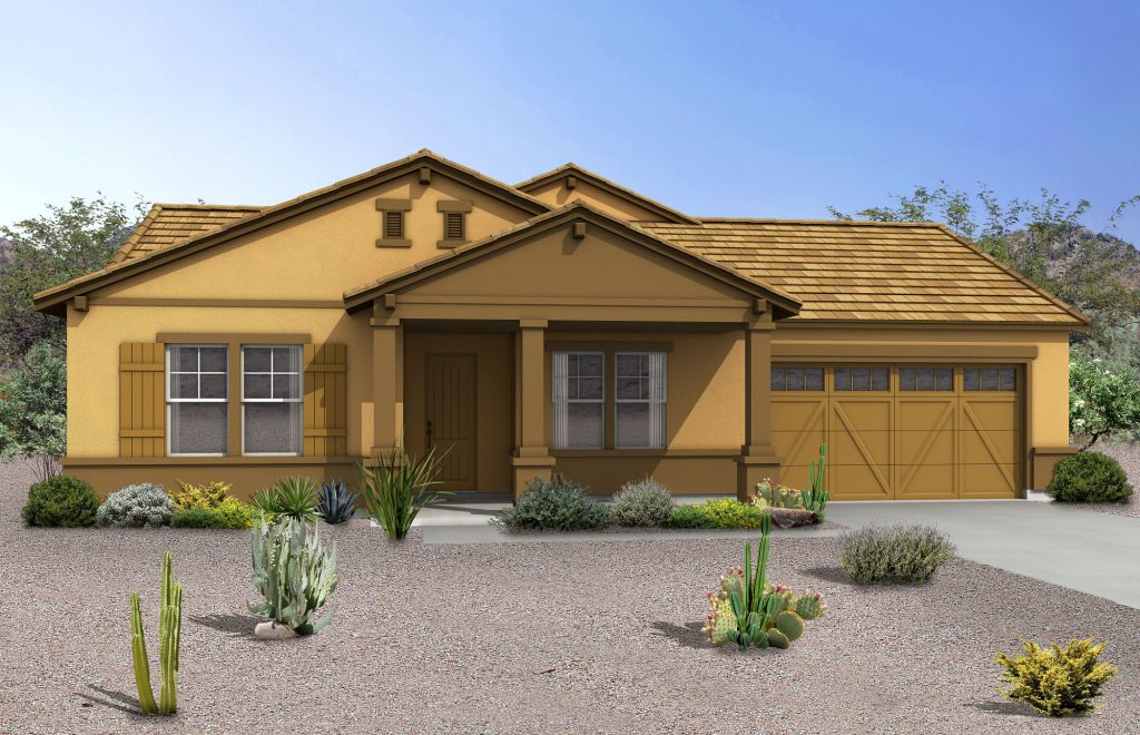 Cresleigh Homes Ranch Rendering
