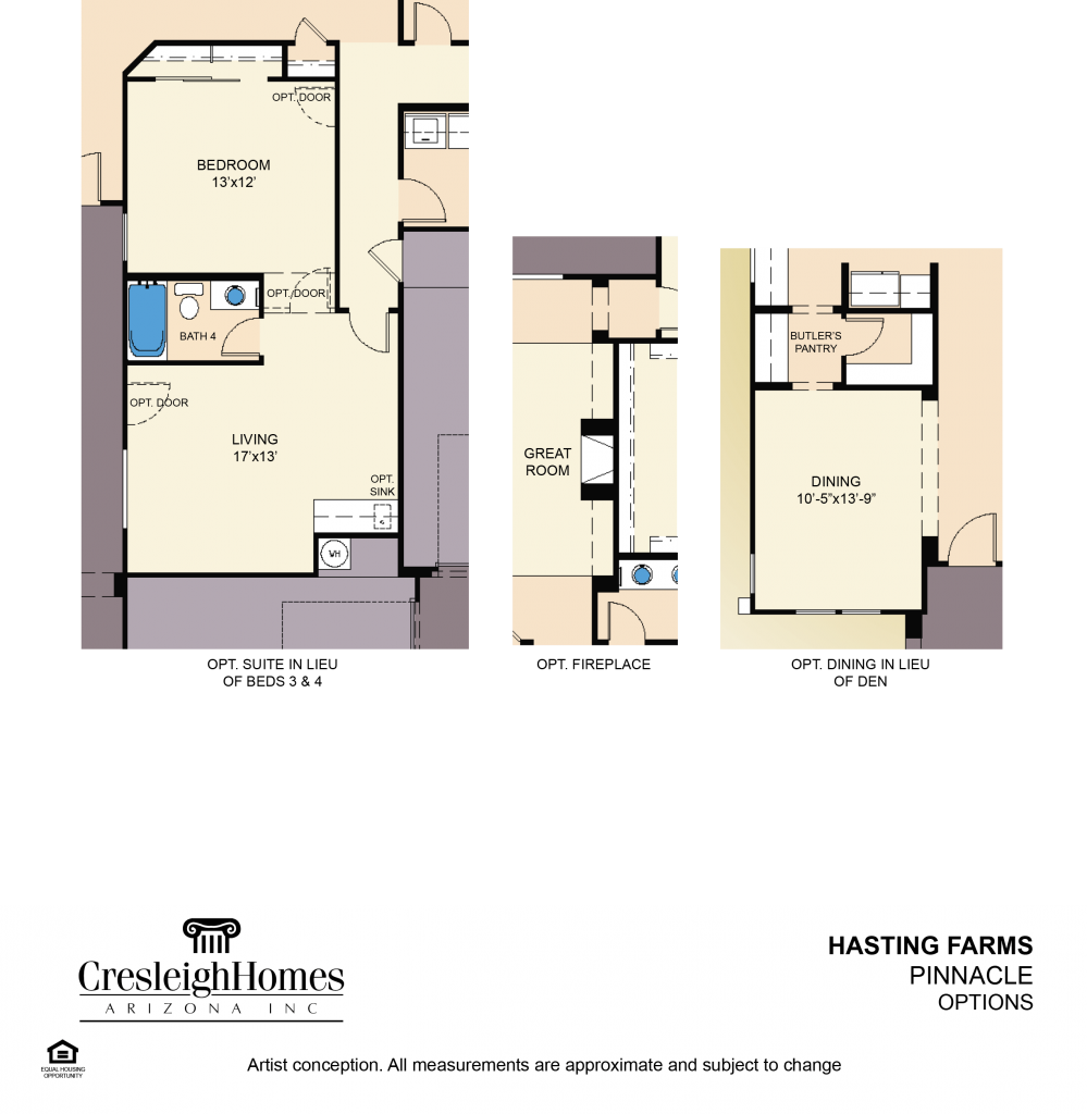 Pinnacle Floor Plan - Second Floor